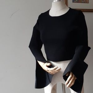 Nicholas Crop Top Extra long sleeves
